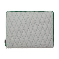 Hay Quilt Sleeve Laptop Cover Green 15