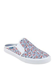 Tommy Hilfiger Frank Canvas Slip On Sneakers Floral Multi