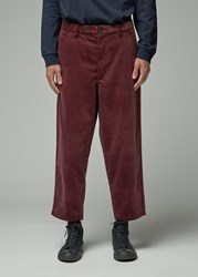 Comme Des Garcons Shirt 'S Corduroy Pant In Brown Size Small 100 Cotton