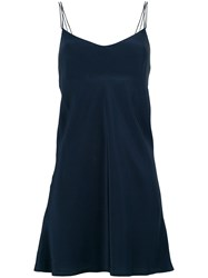 The Seafarer Flared Camisole Top Blue