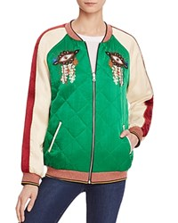 Scotch And Soda Reversible Color Block Bomber Jacket Combo A