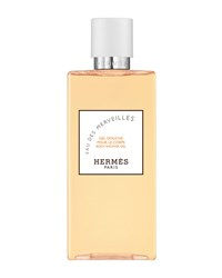 Hermes Eau Des Merveilles Perfumed Bath And Shower Gel 6.8 Oz. Hermes