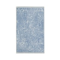 Sanderson Chelsea Rose Towel Blue Guest Towel