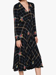 Ghost Janince Dress Black Caro Floral