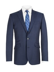 Alexandre Savile Row Single Breasted Tail Jacket Blue