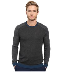 Ted Baker Cambell Charcoal Men's Long Sleeve Pullover Gray