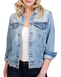 Lucky Brand Glen Cotton Denim Jacket Glen Rose