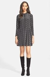 Women's The Kooples Handcuff Print Silk Shirtdress