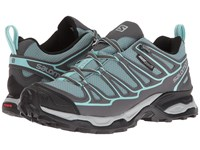 Salomon X Ultra Prime Cs Wp Artic Magnet Aruba Blue Women's Shoes Green