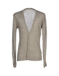 Daniele Fiesoli Knitwear Cardigans Men Dove Grey