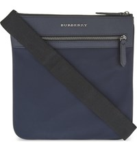 Burberry Beckley Cross Body Bag Ink Blue