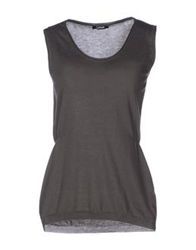 Lupattelli Sleeveless Sweaters Dark Green