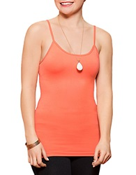 Lysse Seamless Microfiber Cami Top Red Coral