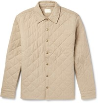Simon Miller Quilted Cotton Jacket Ecru
