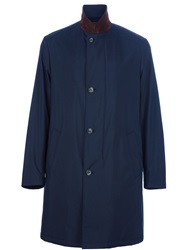Loro Piana Mid Length Coat Blue
