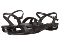 Rsvp Blanca Black Satin Women's Dress Sandals