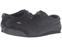 Onitsuka Tiger By Asics Mexico 66 Black Black Lace Up Casual Shoes
