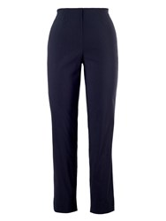 Chesca Pull On Stretch Slim Leg Trouser Navy