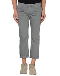 Daniele Alessandrini Trousers Casual Trousers Men Grey