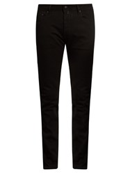 Jacob Cohen Tailored Stretch Denim Jeans Black