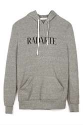 Rodarte Radarte Hoodie Heather Grey