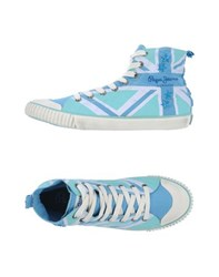 Pepe Jeans Footwear High Tops And Trainers Women