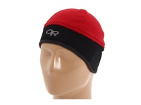 Outdoor Research Wind Warrior Hat Retro Red Black Cold Weather Hats