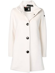 Rrd Classic Single Breasted Coat White