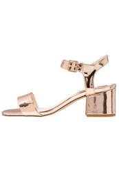 Evenandodd Sandals Rose Gold