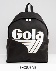 Gola Exclusive Classic Backpack In Black And White Black