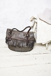 Free People Cortez Distressed Tote