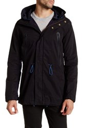 Scotch And Soda Long Sleeve Anorak Black