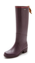 Aigle Miss Juliette Boots Figue Claret