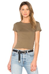 Project Social T Tiny Crew Neck Tee Army