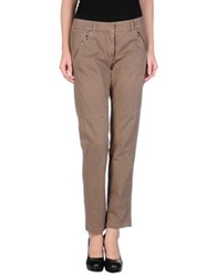 Henry Cotton's Casual Pants Light Brown