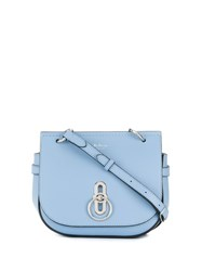 Mulberry Small Amberley Satchel Blue
