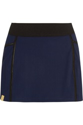 Monreal London Pleated Stretch Jersey Tennis Skirt