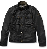 Belstaff Racemaster Waxed Cotton Biker Jacker Black
