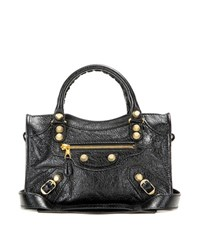 Balenciaga Giant 12 Mini City Leather Tote Black