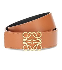 Loewe Reversible Leather Belt Multicoloured