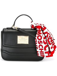 Love Moschino Scarf Detail Tote Black