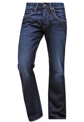 Pepe Jeans Jeanius Relaxed Fit Jeans K50 Dark Blue
