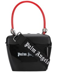 Palm Angels Padlock Strap Bag Black
