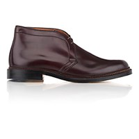 Alden Men's Plain Toe Chukka Brown