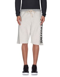 Happiness Trousers Bermuda Shorts Men Light Grey