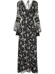 We Are Kindred Nellie Wrap Dress Black