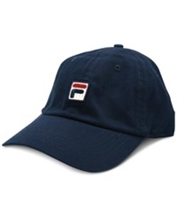 Fila Heritage Cotton Baseball Cap Navy