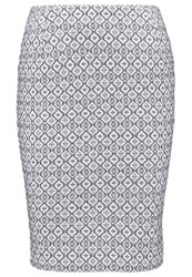 Josephine And Co Elia Pencil Skirt Navy Dark Blue