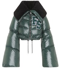 Fenty By Rihanna Quilted Puffer Jacket Green