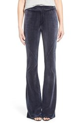 Women's Pam And Gela Velour Flare Pants